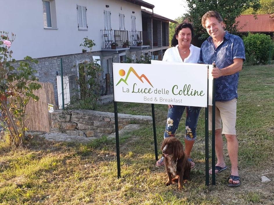 Host Marco & Anna - B&B La Luce delle Colline Langhe Italy